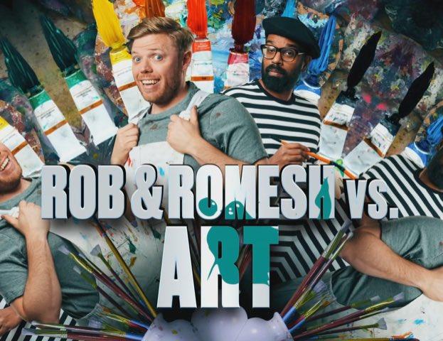 Rob & Romesh Vs… Art